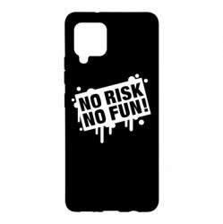 Чохол для Samsung A42 5G No Risk No Fun