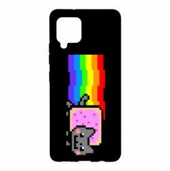 Чохол для Samsung A42 5G Nyan cat