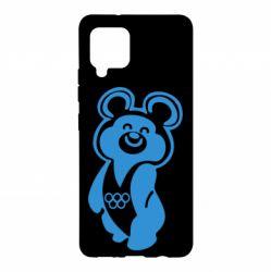 Чохол для Samsung A42 5G Олімпійський Ведмедик