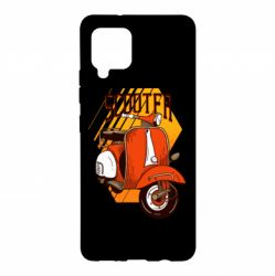 Чохол для Samsung A42 5G Orange scooter