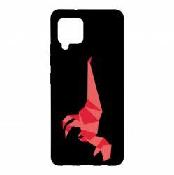 Чехол для Samsung A42 5G Origami dinosaur