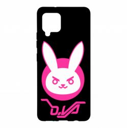 Чехол для Samsung A42 5G Overwatch dva rabbit