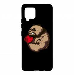 Чехол для Samsung A42 5G Panda Boxing