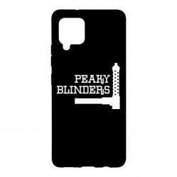 Чохол для Samsung A42 5G Peaky Blinders and weapon