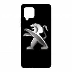Чохол для Samsung A42 5G Peugeot Logo