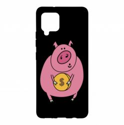 Чохол для Samsung A42 5G Pig and $