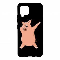 Чохол для Samsung A42 5G Pig dab