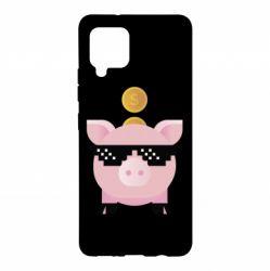 Чохол для Samsung A42 5G Piggy bank