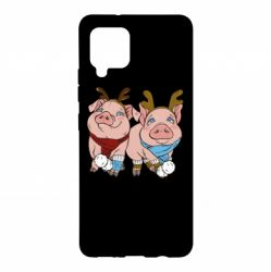 Чохол для Samsung A42 5G Pigs