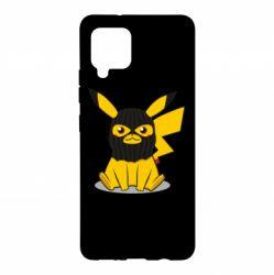 Чохол для Samsung A42 5G Pikachu in balaclava