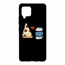 Чохол для Samsung A42 5G Pizza and beer