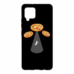 Чохол для Samsung A42 5G Pizza UFO