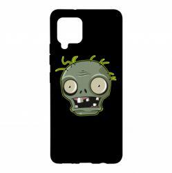 Чохол для Samsung A42 5G Plants vs zombie head