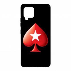 Чохол для Samsung A42 5G Poker Stars 3D Logo