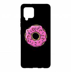 Чехол для Samsung A42 5G Пончик Гомера