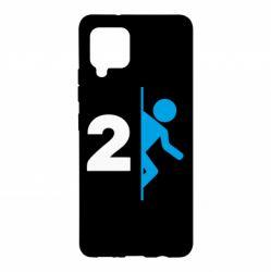 Чехол для Samsung A42 5G Portal 2 logo