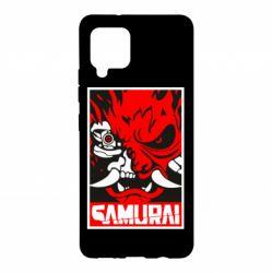 Чохол для Samsung A42 5G Poster samurai Cyberpunk