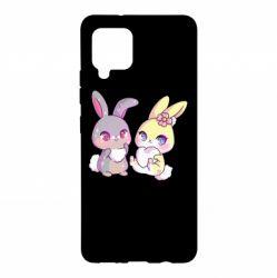 Чохол для Samsung A42 5G Rabbits In Love