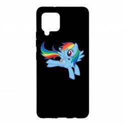 Чохол для Samsung A42 5G Rainbow Dash run