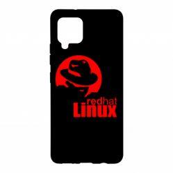 Чохол для Samsung A42 5G Redhat Linux