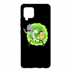 Чохол для Samsung A42 5G Rick and Morty art
