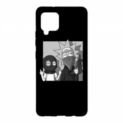 Чехол для Samsung A42 5G Rick and Morty Bandits