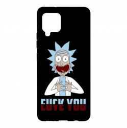 Чохол для Samsung A42 5G Rick and Morty fack and love you