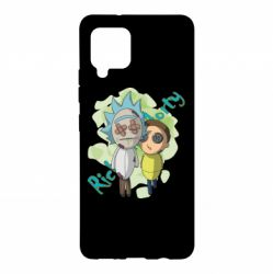 Чохол для Samsung A42 5G Rick and Morty voodoo doll