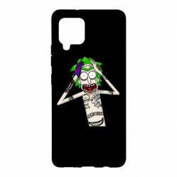 Чохол для Samsung A42 5G Рік і Морті образ Джокера