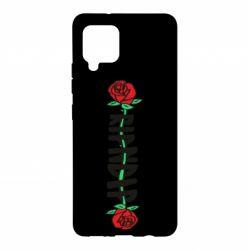 Чехол для Samsung A42 5G RipnDip rose