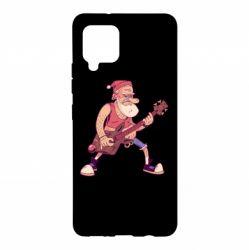 Чохол для Samsung A42 5G Rock'n'roll Santa