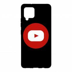 Чохол для Samsung A42 5G Round logo