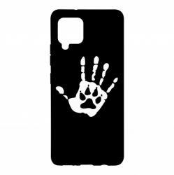 Чохол для Samsung A42 5G Рука вовка