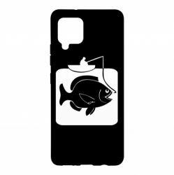Чохол для Samsung A42 5G Риба на гачку
