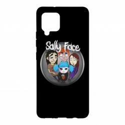 Чехол для Samsung A42 5G Sally face soundtrack