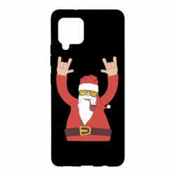 Чохол для Samsung A42 5G Santa Claus with a tube