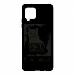 Чохол для Samsung A42 5G Schrödinger's cat is wanted