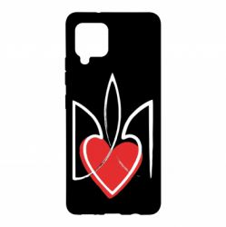 Чехол для Samsung A42 5G Серце з гербом