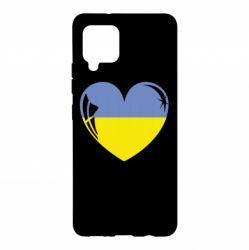 Чохол для Samsung A42 5G Серце України