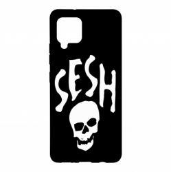 Чехол для Samsung A42 5G Sesh skull