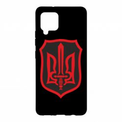 Чехол для Samsung A42 5G Shield with the emblem of Ukraine and the sword