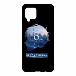 Чохол для Samsung A42 5G Silhouette City Detroit: Become Human