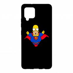 Чехол для Samsung A42 5G Simpson superman
