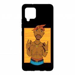 Чохол для Samsung A42 5G Singer Tupac Shakur
