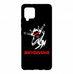 Чохол для Samsung A42 5G Skidiving