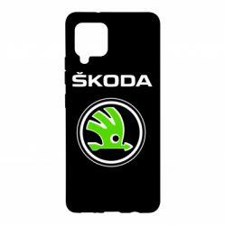Чехол для Samsung A42 5G Skoda Bird