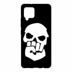 Чехол для Samsung A42 5G Skull and Fist