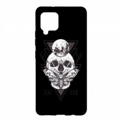 Чохол для Samsung A42 5G Skull with insect