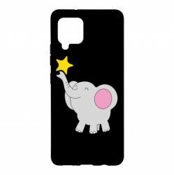 Чохол для Samsung A42 5G Слон із зірочкою