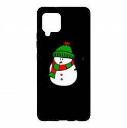 Чохол для Samsung A42 5G Сніговик